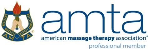 logo of the American Massage Therapy Association identification as professional member